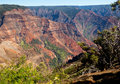 Waimea Canyon on Kauai Royalty Free Stock Images