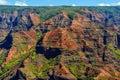 Waimea Canyon in Kauai, Hawaii Islands Royalty Free Stock Photo