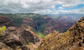 Waipoo Falls, Waimea Canyon Kauai, Hawaii Royalty Free Stock Photo