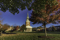 Wait chapel at wake forest university in winston salem nc Stock Image
