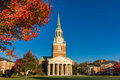 Wait chapel at wfu built in wake forest university in winston salem north carolina Stock Image
