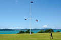 Waitangi Treaty Grounds Stock Image