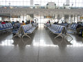 Waiting area of high speed railway station south nanjing Royalty Free Stock Images