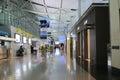 waiting area  at Kansai Airport Royalty Free Stock Photo