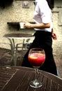 Waitress Royalty Free Stock Photo