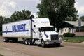 Wal-Mart truck Royalty Free Stock Photo
