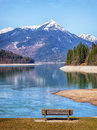 Walchensee in bavaria germany photo Stock Photo