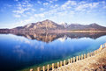 Walchensee in bavaria germany photo Stock Photography