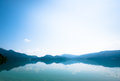 Walchensee near bavarian alps germany Stock Photos
