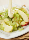 Waldorf salad Stock Photo