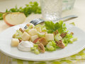 Waldorf salad Royalty Free Stock Photo