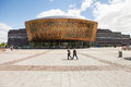 Wales millennium centre cardiff may welsh canolfan mileniwm cymru is an arts located in the cardiff bay area of Royalty Free Stock Photo