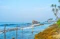 The walk along the coast Royalty Free Stock Photo
