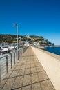 Walk at Estartit port Royalty Free Stock Photo