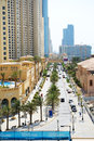 The Walk at Jumeirah Beach Residence Royalty Free Stock Photo