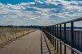 Walking Along Lake Murray Dam ...