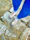 Walking in the broken road with broken heart leaves a heavy footsteps.