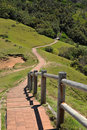 Walking path at Cape Byron, Australia Royalty Free Stock Photo
