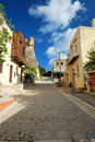 Walking in Rethymnon, Crete Stock Image