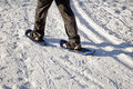 Walking with snow rackets. Royalty Free Stock Photos