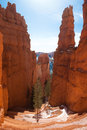 Walking trail Grand Staircase in Bryce Canyon National Park, Utah, USA Royalty Free Stock Photo