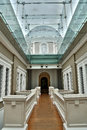 Walkway through Museum Royalty Free Stock Images