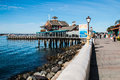 Walkway at Seaport Village in San Diego Royalty Free Stock Photo