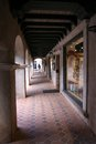 Walkway at shops shopping tlaquepaque arizona Royalty Free Stock Images