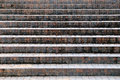 Walkway of stairs built of stone and concrete in the front view passage public garden Royalty Free Stock Photo