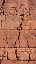Wall background clay madagascar africa Royalty Free Stock Photo