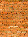 Wall from a brick in a slanting sunlight Royalty Free Stock Image
