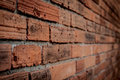 Wall brick texture Perspective Stock Photo