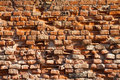 The wall of bricks Royalty Free Stock Photography