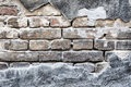 Wall and bricks Royalty Free Stock Photo