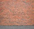 Wall of bricks Stock Images