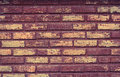 Wall bricks old texture and background Royalty Free Stock Images