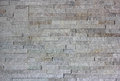 Wall built of granite blocks white color Stock Photo