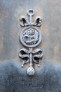Wall carving of Venetian winged lion Royalty Free Stock Photo