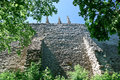 The wall of the cathedral of the holy virgin barbara in kutna hora czech republic Stock Photo