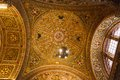 Wall and ceiling frescoes Royalty Free Stock Photo