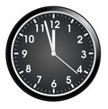 Wall clock Stock Photo