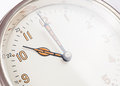 Wall clock close up photo Royalty Free Stock Images