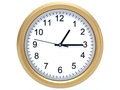 Wall clock d clip art of Stock Photos