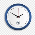 Wall clock icon, realistic style