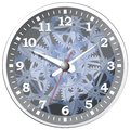 Wall clock. Vector illustration. Royalty Free Stock Photo
