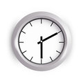 Wall clock vector illustration of a Royalty Free Stock Image