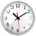 Wall clock vector illustration this is file of eps format Royalty Free Stock Photography
