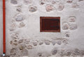 Wall fragment old town building abstract detail Stock Photo