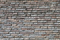 Wall from a granite brick 11 Royalty Free Stock Photo