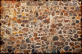 Wall from granite stones Royalty Free Stock Photos
